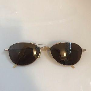 Oliver people's women's sunglasses Aero gold frame